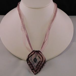 Jewelry - Purple Leaf Necklace